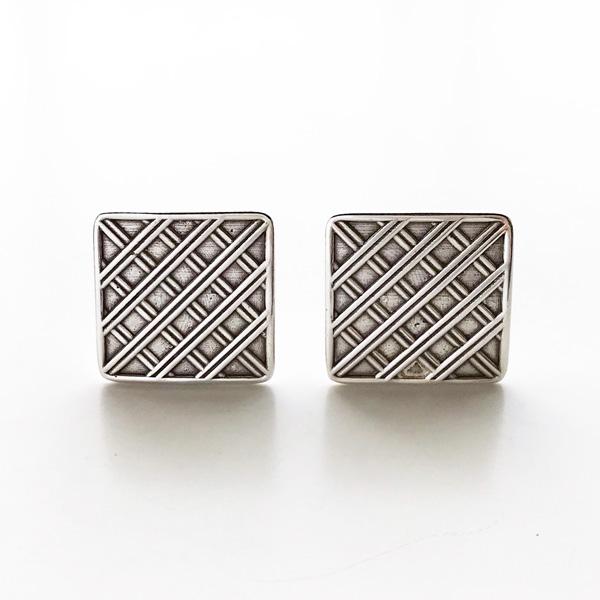PHILIPPE AUDIBERT/Floyd earrings clip, pewter silver color,