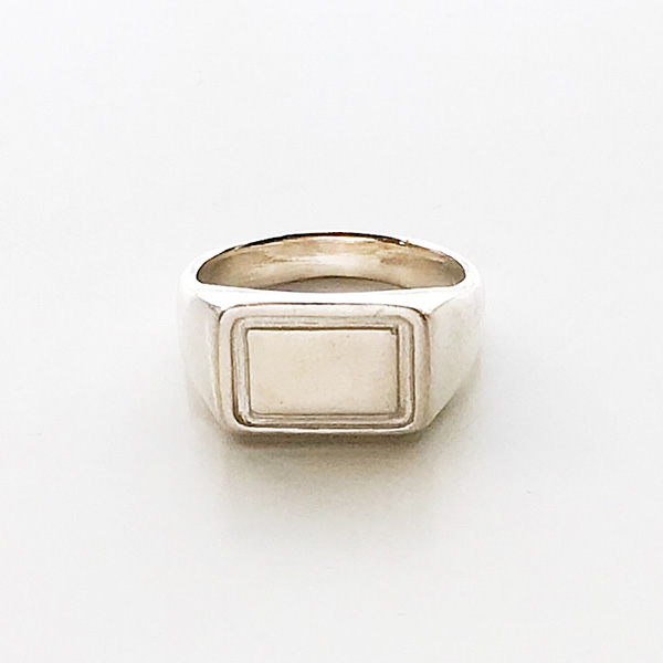 Wolf Circus/Parker Signet Ring in Sterling Silver