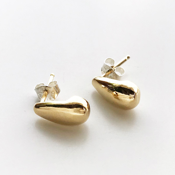 Wolf Circus/Dune Baby Studs in 14K gold plated