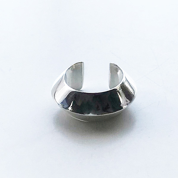 Saskia Diez/PYRAMID earcuff02 925 AG Silver