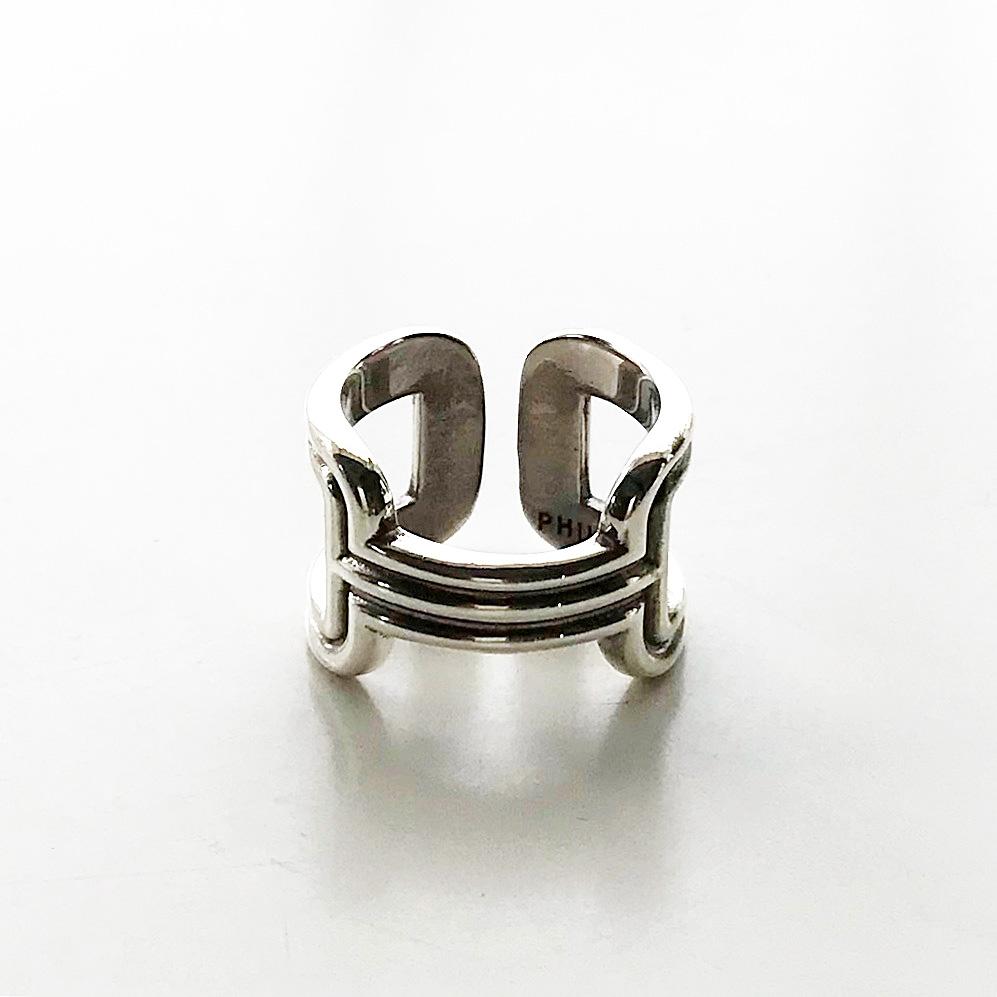PHILIPPE AUDIBERT/Errolia ring, brass silver color,