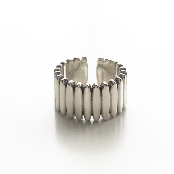 【再入荷】 PHILIPPE AUDIBERT/Donovan ring, brass silver color,