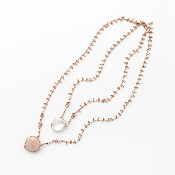 Gas Bijoux/Scapulaire Serti Necklace in Gold(ネックレス)