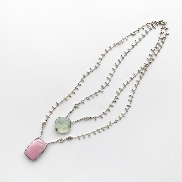 Gas Bijoux/Necklace:Scapulaire Serti o(ネックレス)
