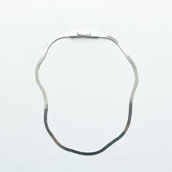 Saskia Diez/FLUID NECKLACE SHORT 925 AG