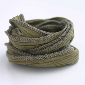 CATHERINE MICHIELS/Hand Dyed Silk 【Khaki】