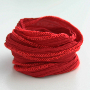 CATHERINE MICHIELS/Hand Dyed Silk 【Real Red】