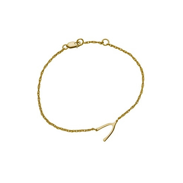 jennifer zeuner/Lily-B mini Wishbone Bracelet