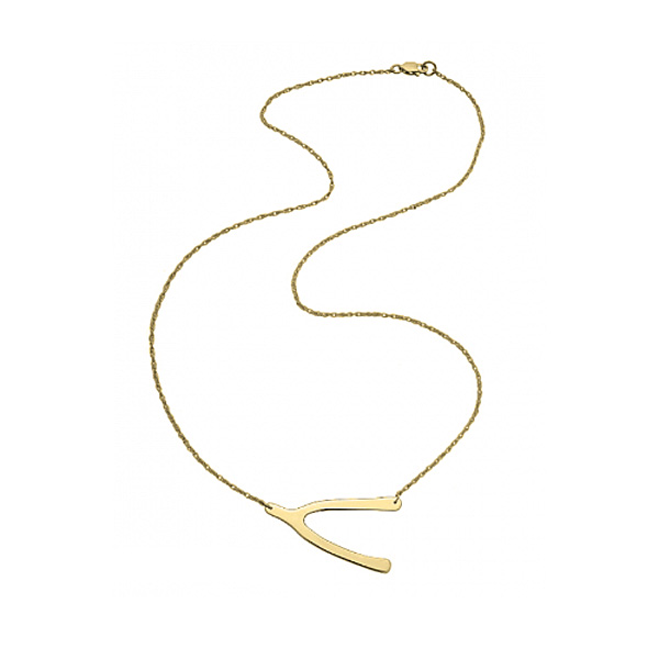 jennifer zeuner/Wishbone Necklace