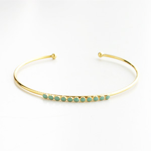 Medecine Douce/IONS BANGLE MAXI GREEN