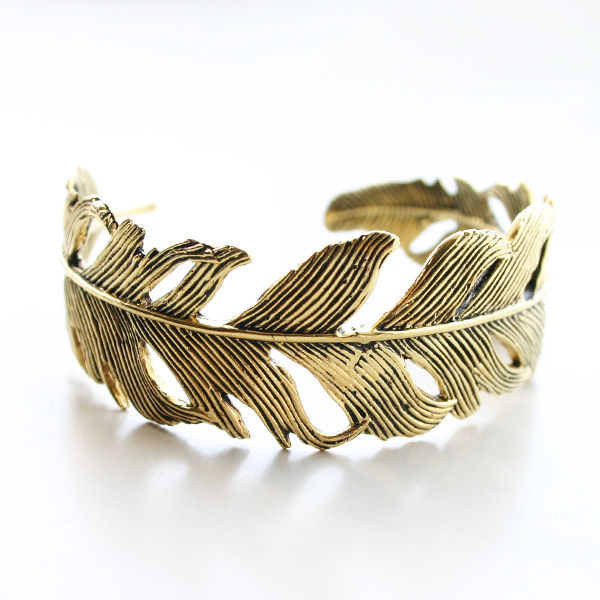MARIE LAURE CHAMOREL/MLS220 / ANTIK FEATHER BRACELET