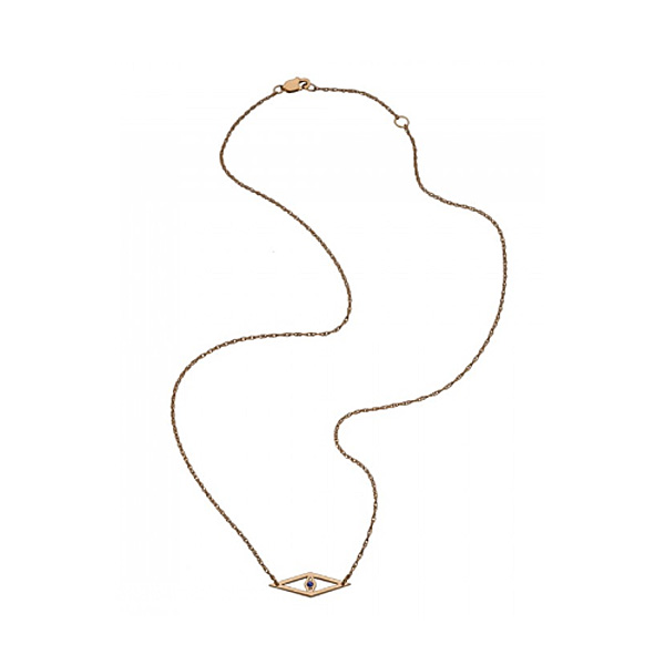 jennifer zeuner/raquel mini necklace/Gold