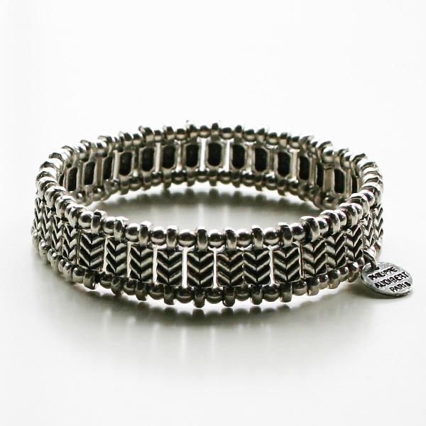 PHILIPPE AUDIBERT/Watson bracelet silver color,