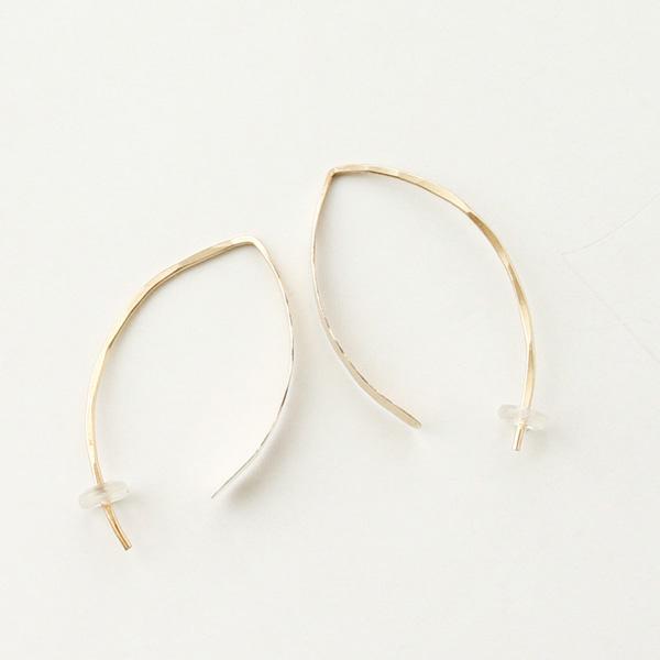 """【再入荷】 MELISSA JOY MANNING/1.5"""" wishbone hoop"""