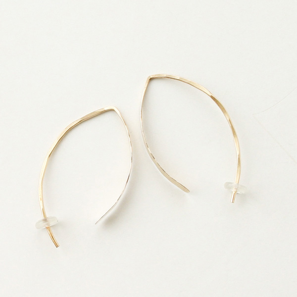 "MELISSA JOY MANNING/1"" wishbone hoop"