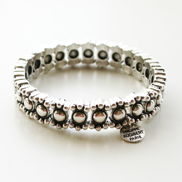 PHILIPPE AUDIBERT/Amelia bracelet metal silver color,