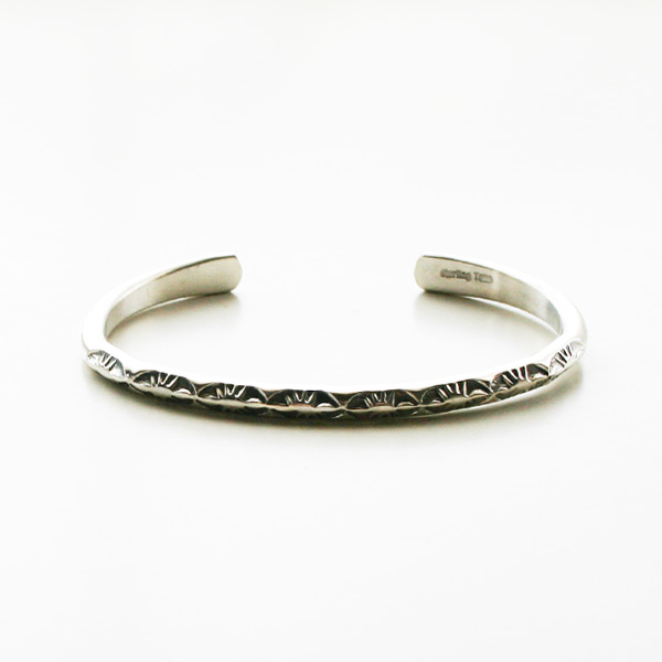 HARPO/Thin Simple Bracelet in Silver C