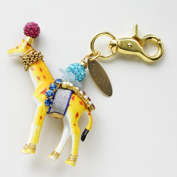 lenora dame/Giraffe Keychain