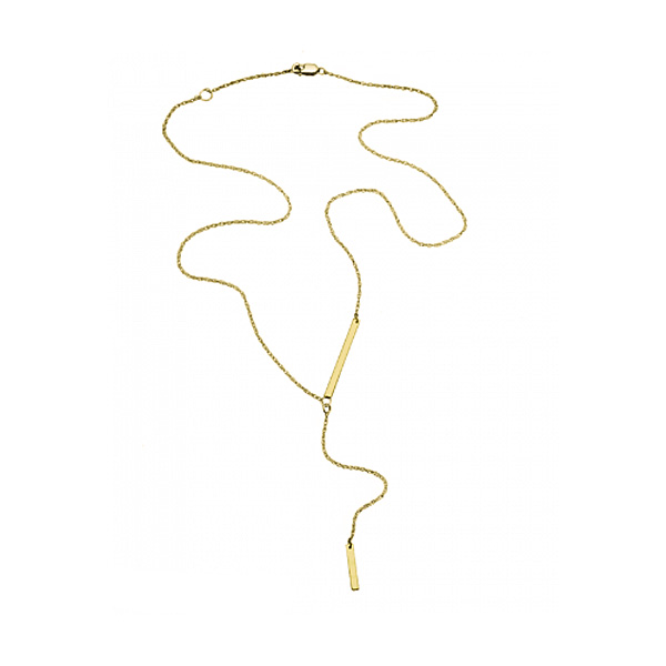 jennifer zeuner/PETRA Mini Lariats Necklace