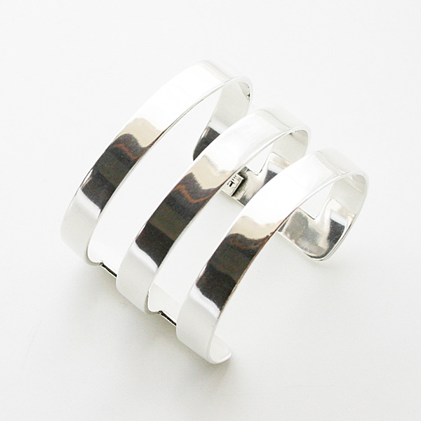 【再入荷】 PHILIPPE AUDIBERT/Right bracelet L Silver Color,