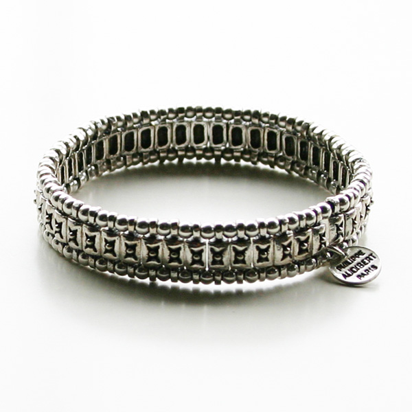 PHILIPPE AUDIBERT/Palms Bracelet Silver Color,
