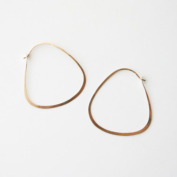 MELISSA JOY MANNING/triangle hoop
