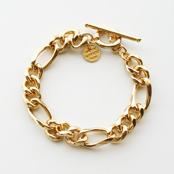 PHILIPPE AUDIBERT/Doug chain bracelet, brass gold color