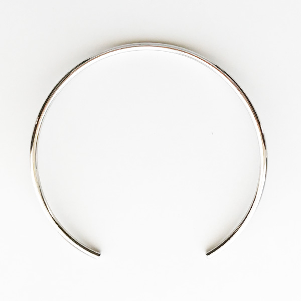 JULES SMITH/AMERICAN CHOKER in Silver