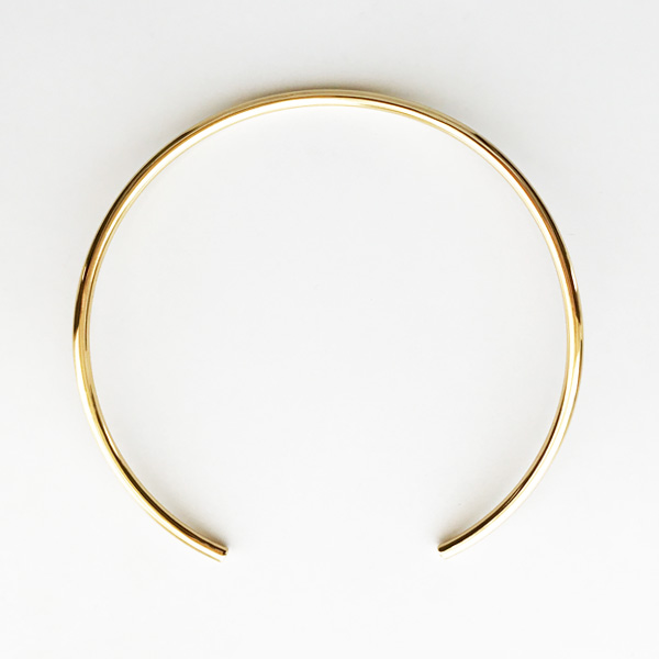 JULES SMITH/AMERICAN CHOKER in Yellow Gold