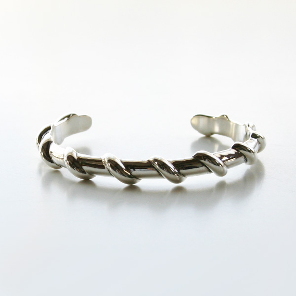 PHILIPPE AUDIBERT/Josh bracelet brass silver color,