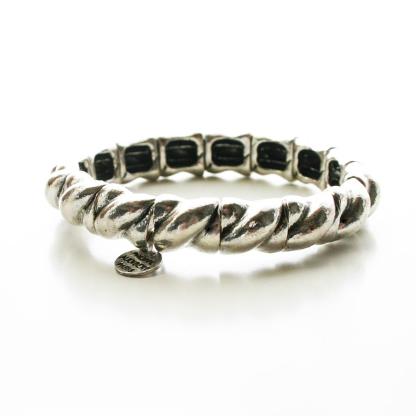PHILIPPE AUDIBERT/Lester bracelet, pewter silver color,