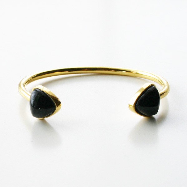 Lizzie Fortunato Jewels/Inca Cuff in Onyx