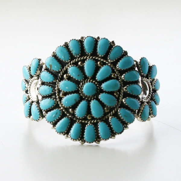 HARPO/Juliana Williams/FLOWER BRACELET BR20/BR06 Turquoise