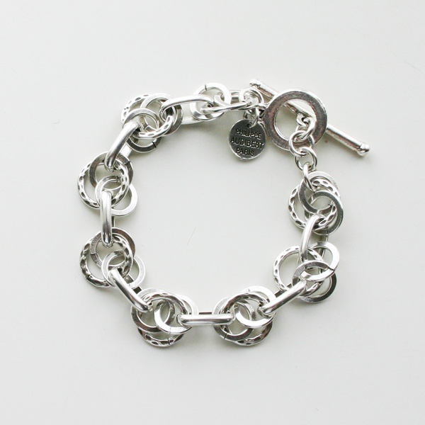 PHILIPPE AUDIBERT/Ubert bracelet brass silver color