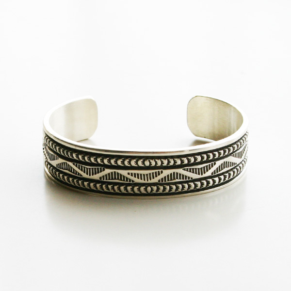 【20%OFF】 HARPO/Bruce Morgan/INDIAN SILVER CUFF/01