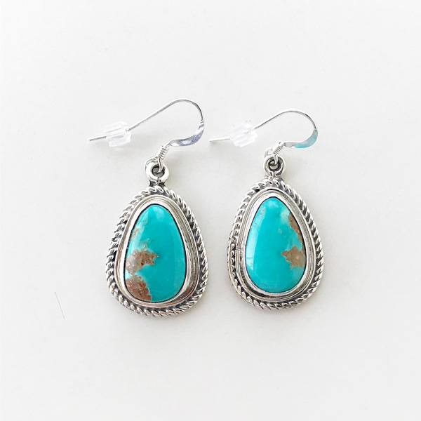 HARPO/BO07 Dangle Earrings in Turquoise