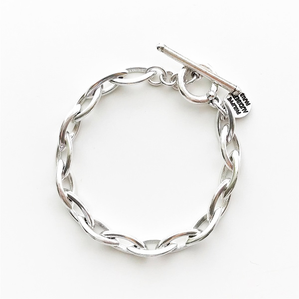 【再入荷】 PHILIPPE AUDIBERT/Elton bracelet, brass silver color,