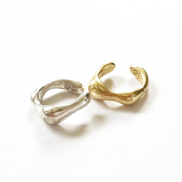 The2BANDITS/MOJAVE EAR HUGGIE SET (SILVER/GOLD)