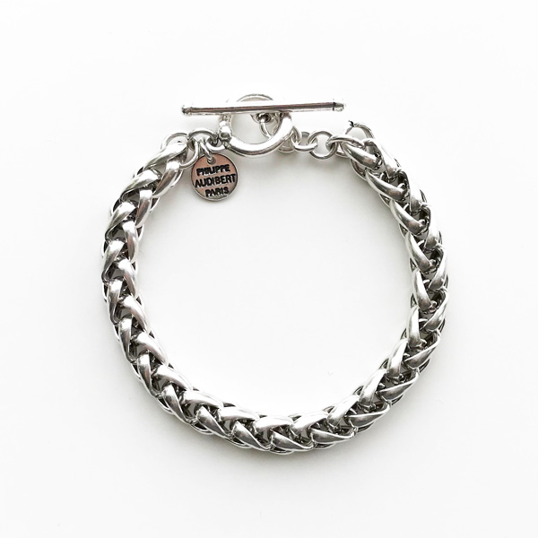 【再入荷】 PHILIPPE AUDIBERT/Aita bracelet , brass silver color,