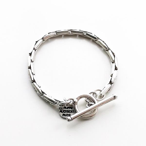 PHILIPPE AUDIBERT/Ashly bracelet brass silver color,