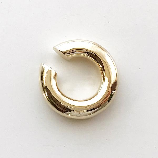 【再入荷】 Saskia Diez/BOLD EARCUFF BRASS, GOLD PLATED