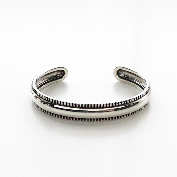 PHILIPPE AUDIBERT/Jake bracelet , brass silver color,