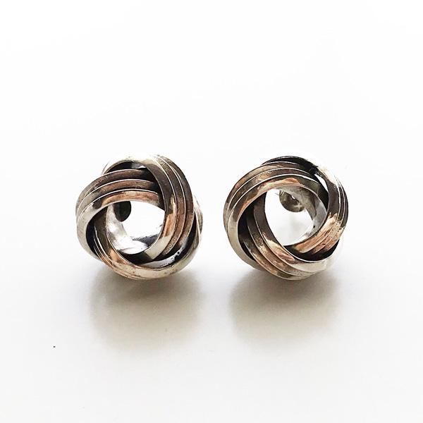 PHILIPPE AUDIBERT/Alicia earringL brass silver color,