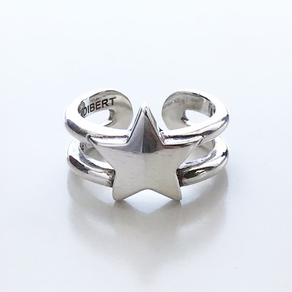 PHILIPPE AUDIBERT/Rory ring , brass silver color,