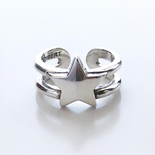 【再入荷】 PHILIPPE AUDIBERT/Rory ring , brass silver color,