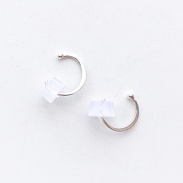 【再入荷】MELISSA JOY MANNING/ Sterling silver small hugger hoop