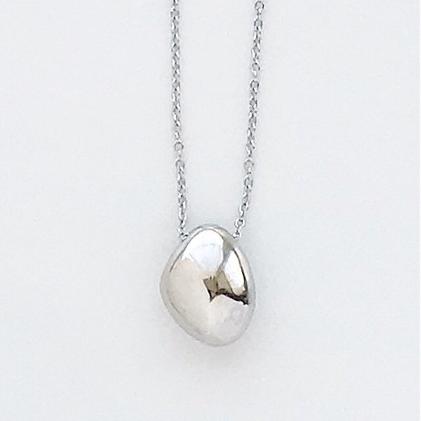 SOKO/jiwe pendant necklace in silver