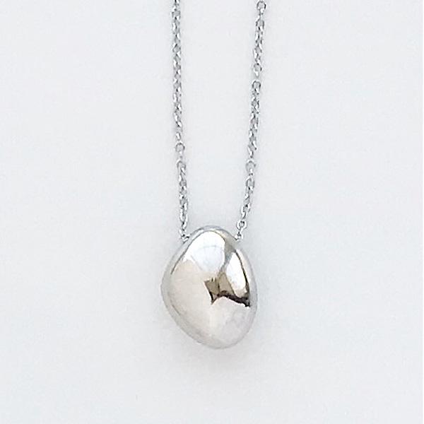 SOKO/jiwe pendant necklace in silver
