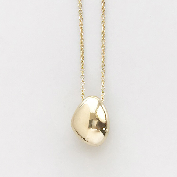 SOKO/jiwe pendant necklace in gold