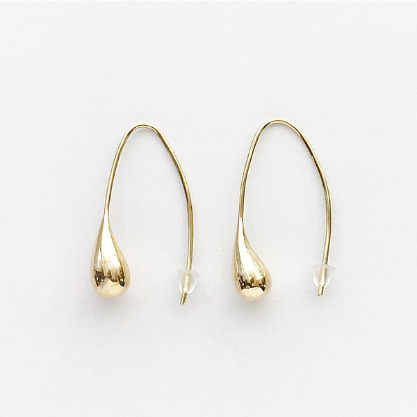 SOKO/dash threader earrings in gold